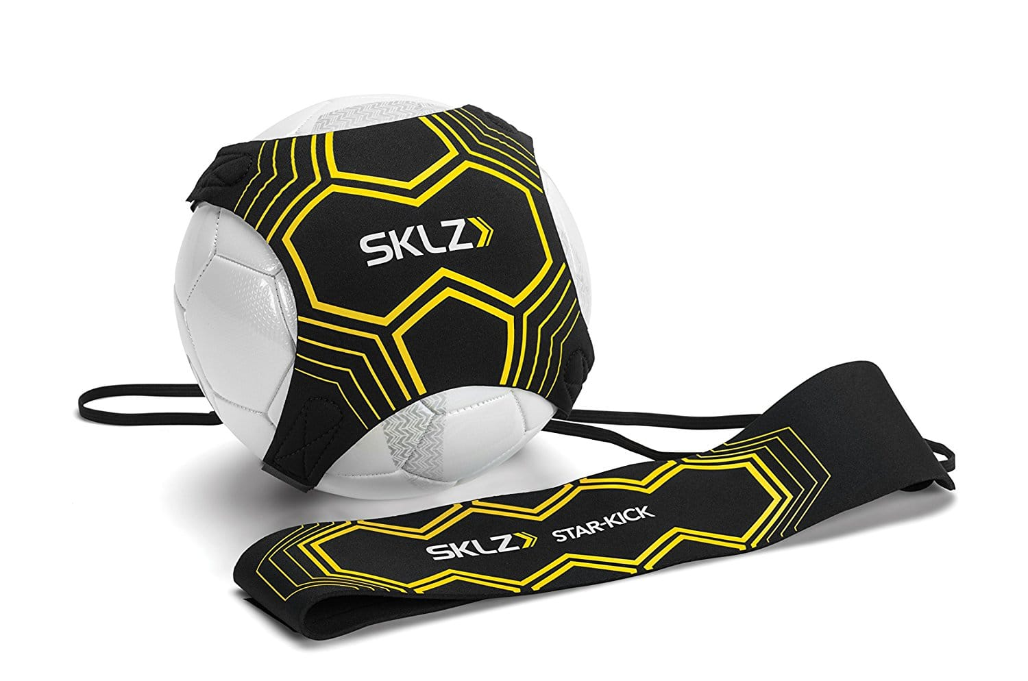SKLZ Star-Kick Hands Free Solo Soccer Trainer- Fits Ball Size 3, 4, and 5 $7.98