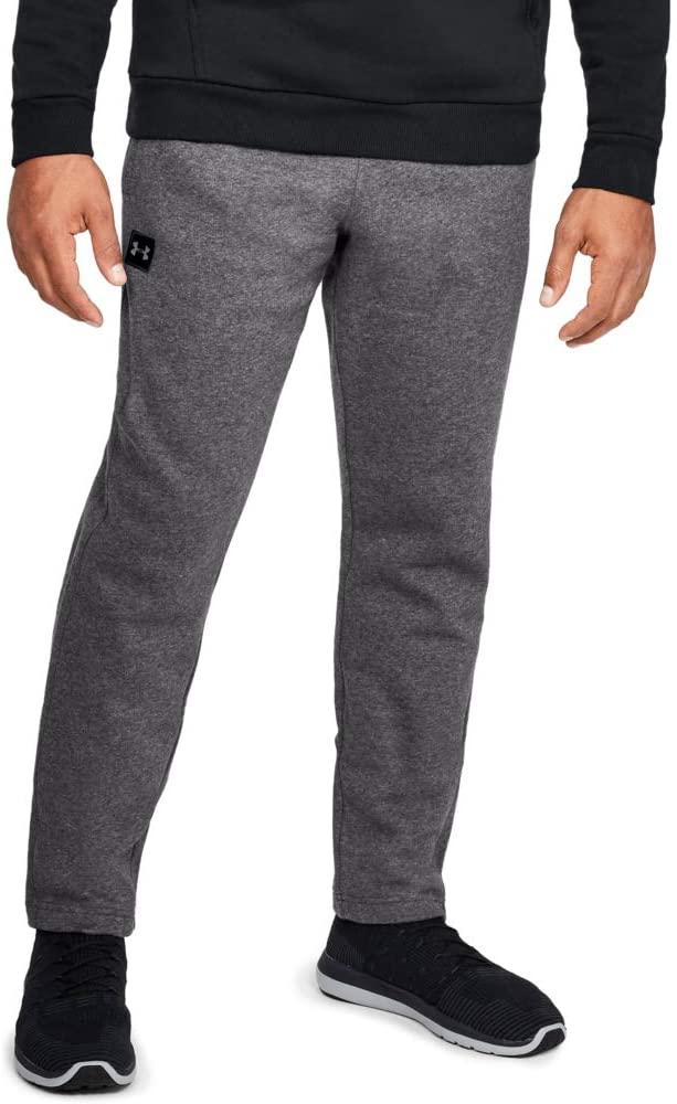 Under Armour Men's Rival Fleece Pants, Charcoal/Black (S,M,L, XL, XXL, XXXL) $16.07 @ Amazon