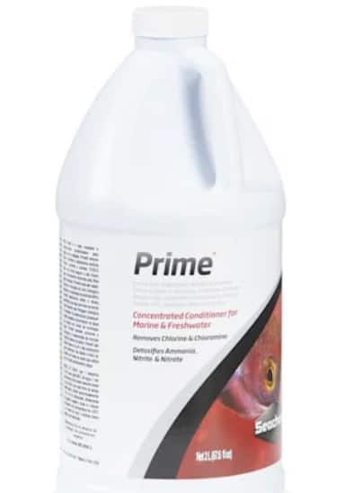 Seachem prime 2L aquarium water conditioner $33 with first subscribe and save petco.com
