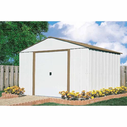 "Arrow shed SR1010 10'3""x 9'9"" Mid-Gable Storage Building $299 + $50 back in rewards sears"