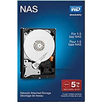 B&H Photo Video Deal: WD 5TB Red drive, Retail Kit $199.00 with free shipping. B&H