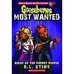 Goosebumps Most Wanted #8 Night of the Puppet People BOOK PREORDER Releases September 29th - $3.63 at Amazon!