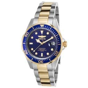 Invicta 8935 Pro Diver Watch Stainless Steel Two Tone Blue and Gold $33.99 at Amazon!
