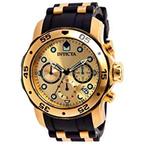 Invicta 17885 Pro Diver Ion-Plated Stainless Steel 48mm Watch with Polyurethane Band $42.99 at Amazon!