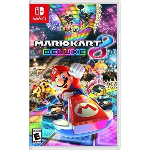 Mario Kart 8 Deluxe Nintendo Switch Walmart $44.99