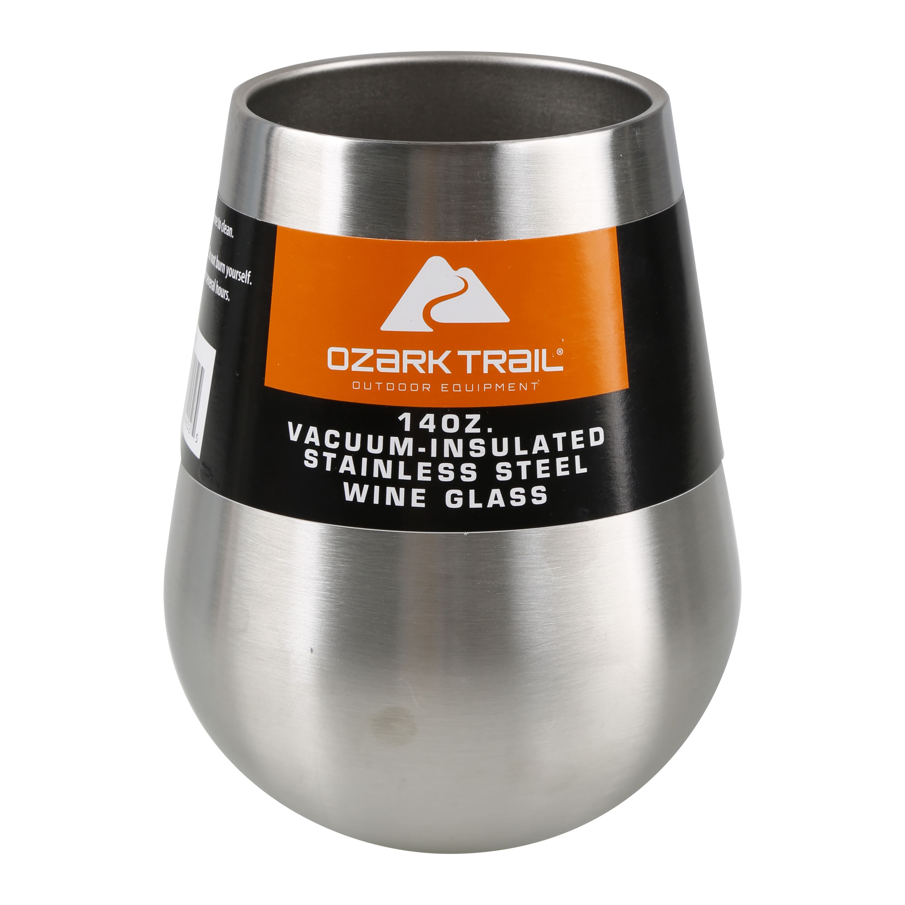 Walmart Ozark Trail 14 Oz Vacuum-Insulated Stainless Steel WINE Glass ymmw IN Store clearance $1.00