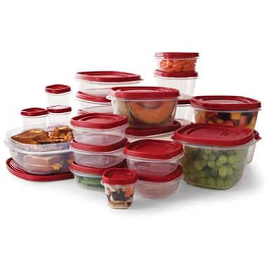 Rubbermaid 50-Piece Easy Find Lids Food Storage Set - 10.98 $ + free shipping $10.98