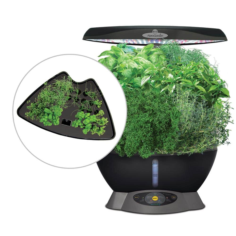 YMMV - Miracle-Gro AeroGarden Classic 6 Smart Garden plus Bonus 36 Seed Starting System - $59.98 - Home Depot
