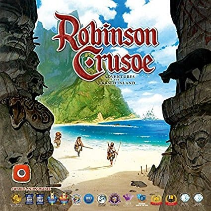 Robinson Crusoe Board Game 2nd Edition on Amazon for $48.14