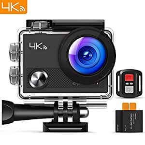 Apeman 4K WIFI Action Camera with Accessories $29.99