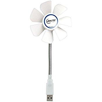 Arctic Breeze Mobile - Mini USB Desktop Fan $4.12 on Amazon