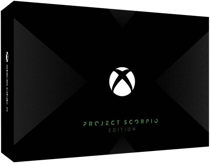 Xbox One X Project Scorpio - Amazon Pre Order Available $499.99