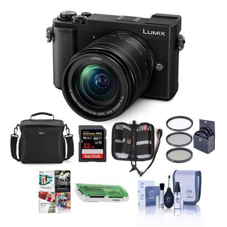 Panasonic Lumix DC-GX9 Mirrorless Camera w/12-60mm Lens Black And Free Accessory $797.99