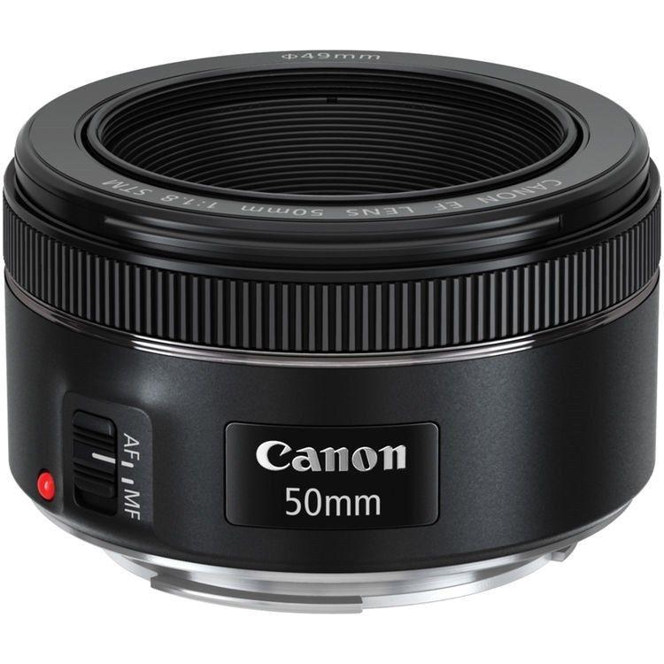 Canon EF 50mm f/1.8 STM Lens $83.99