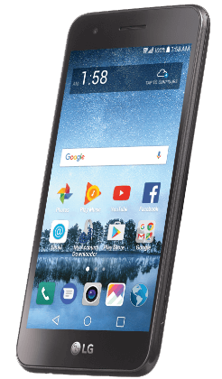 LG REBEL 3 LTE - RECONDITIONED -  with 30-Day Unlimited Plan $25
