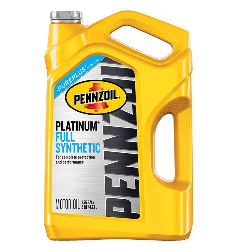 Pennzoil Platinum Full Synthetic 5w-30 motor oil 5qt -- $11.39 ...