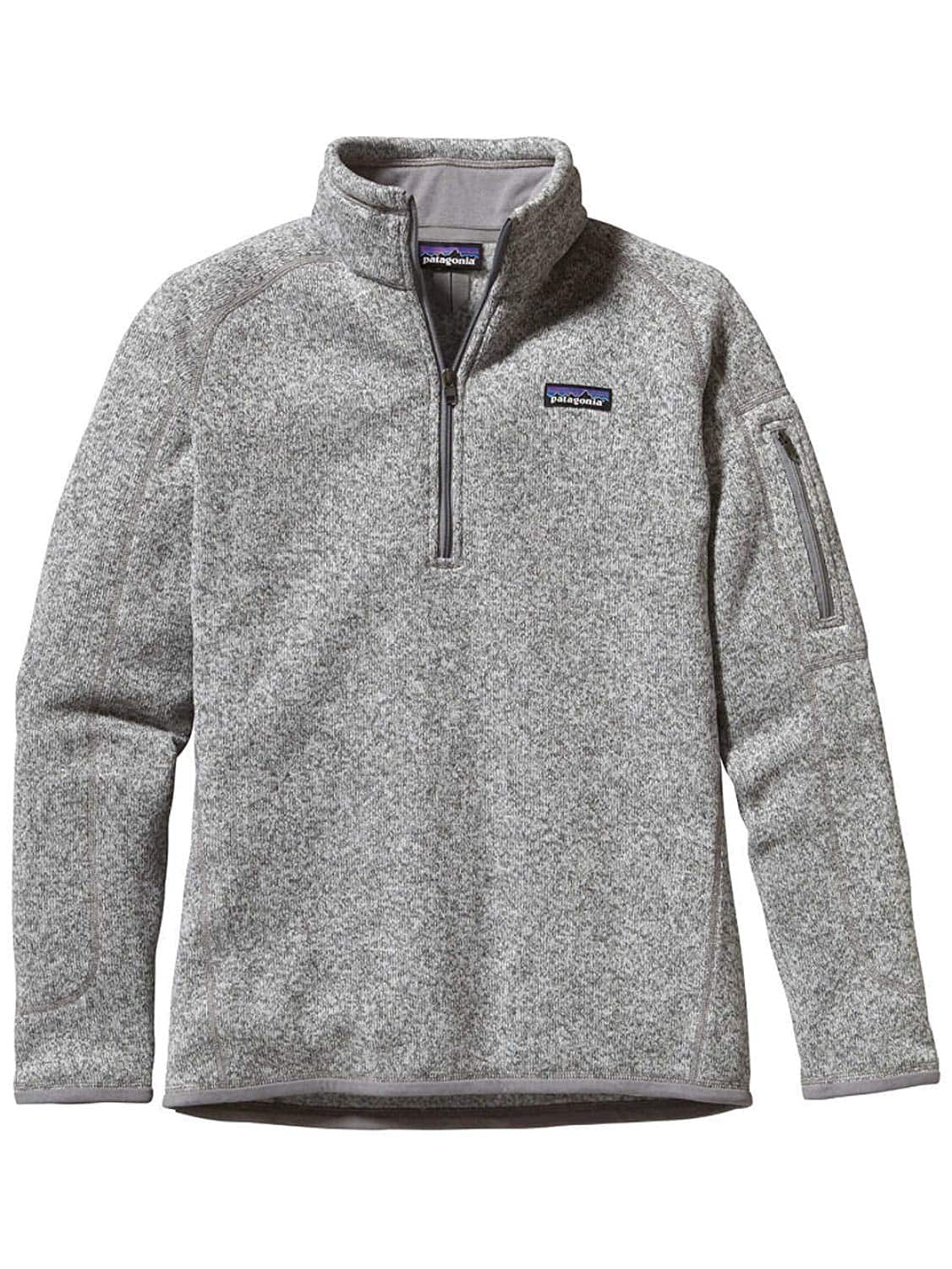 Patagonia Women's Better Sweater Quarter Zip Fleece Jacket, (Limited Sizes) Multiple colors