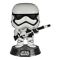 Amazon Deal: Amazon Exclusive STAR WARS First Order (Heavy Artillery) Stormtrooper Funko POP! Vinyl Bobble-Head Pre-Order is Live $12.99