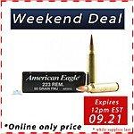 [PSA] FEDERAL AMERICAN EAGLE .223 REM 55GR FMJ [$5.99 (33¢ per round)]