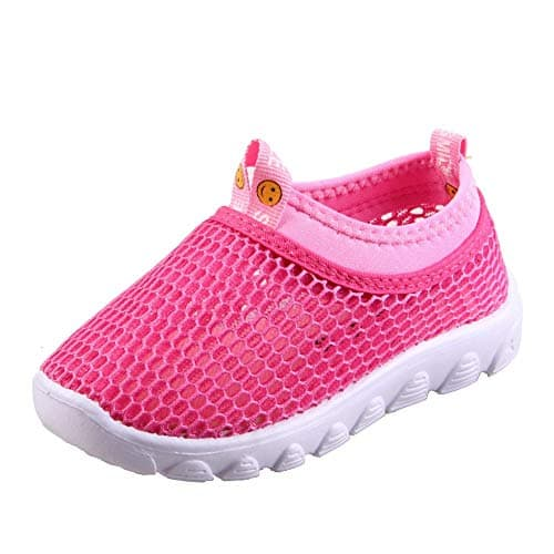 Toddler Kids Water Shoes Breathable Mesh Running Sneakers Sandals for Boys Girls Running Pool Beach  $5.99