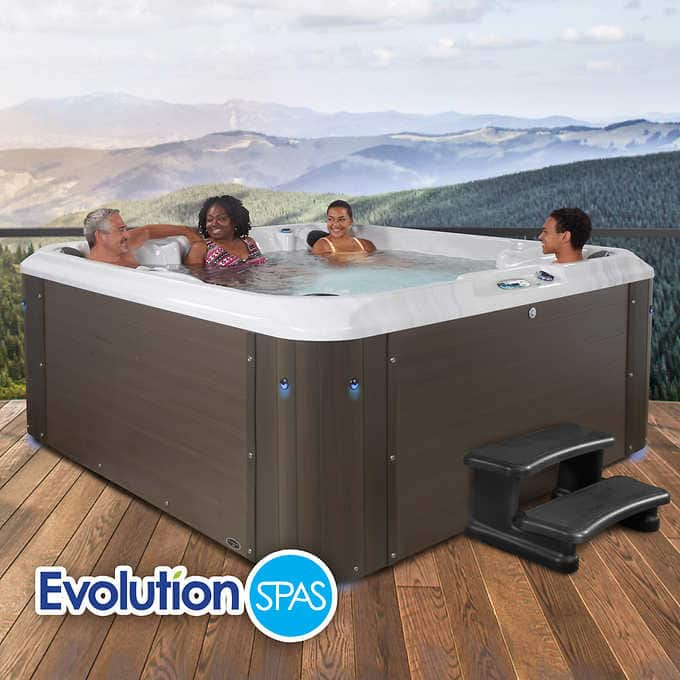 Costco: Evolution Spas Monarch 90 Jet, 7-Person Spa Hot Tub ($1000 off) $7999.99