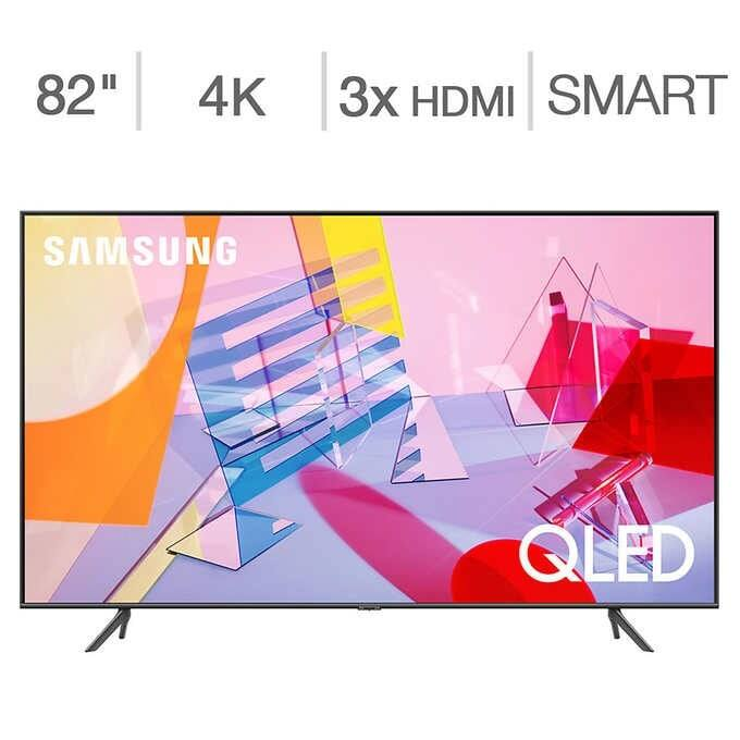 "Samsung 82"" Class - Q6DT Series - 4K UHD QLED LCD TV $1599.99 at Costco (70"" TV for $949.99) Starts 8/5 SQ Warranty Included"
