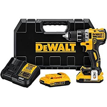 DeWalt DCD791D2 20V MAX XR 2.0Ah Brushless Compact Drill/Driver Kit for $159.99 @ Amazon