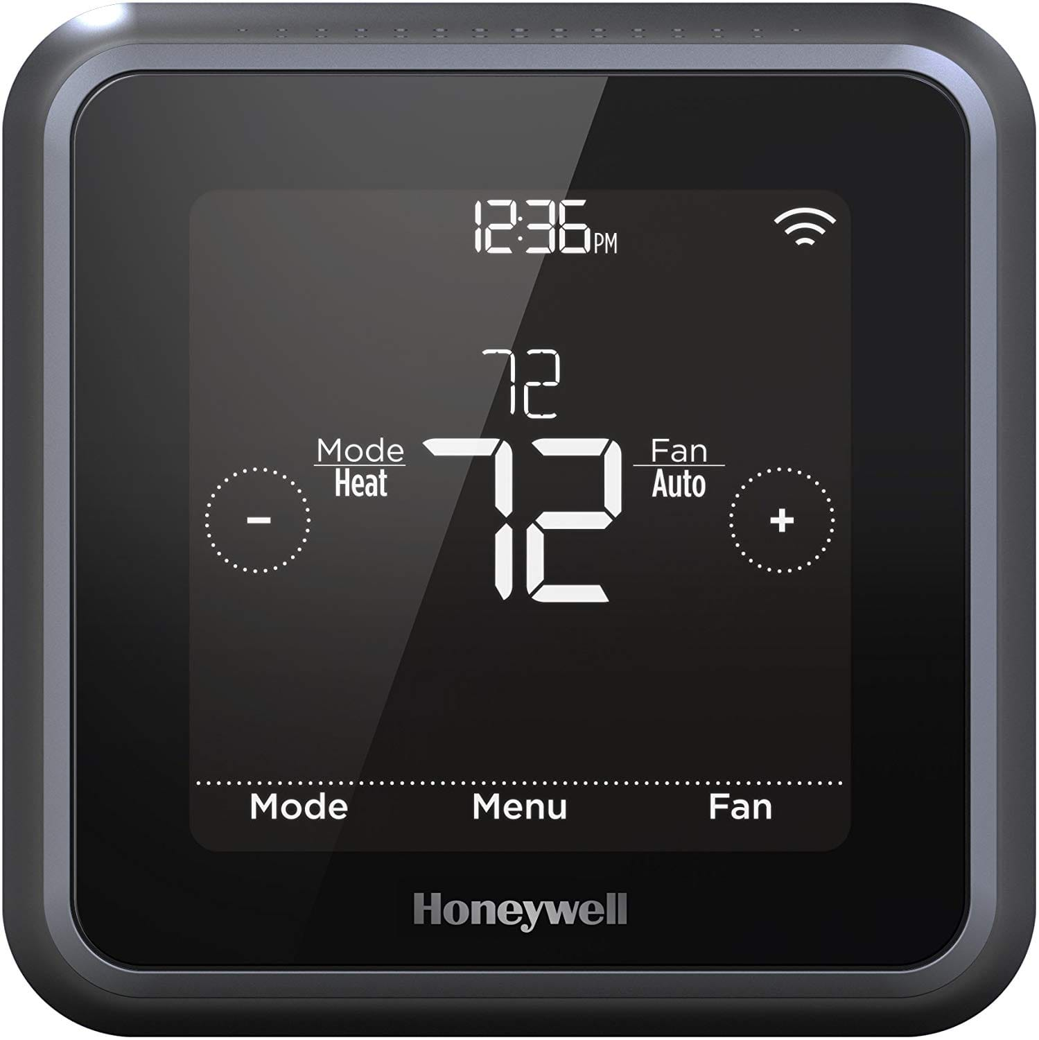 Honeywell Home RCHT8612WF T5 Plus Wi-Fi Touchscreen Smart Thermostat Black 97.85