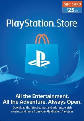 PlayStation Store USD PSN Gift Card US $21.47