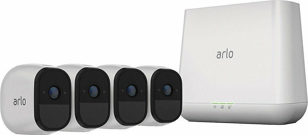 Arlo Pro kits $159 2-Cam, $299 4-Cam Manufacturer Refurbished @eBay