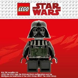 LEGO star wars Darth Vader minifigure alarm clock price reduce @amazon - $17.19 (43% discoun)
