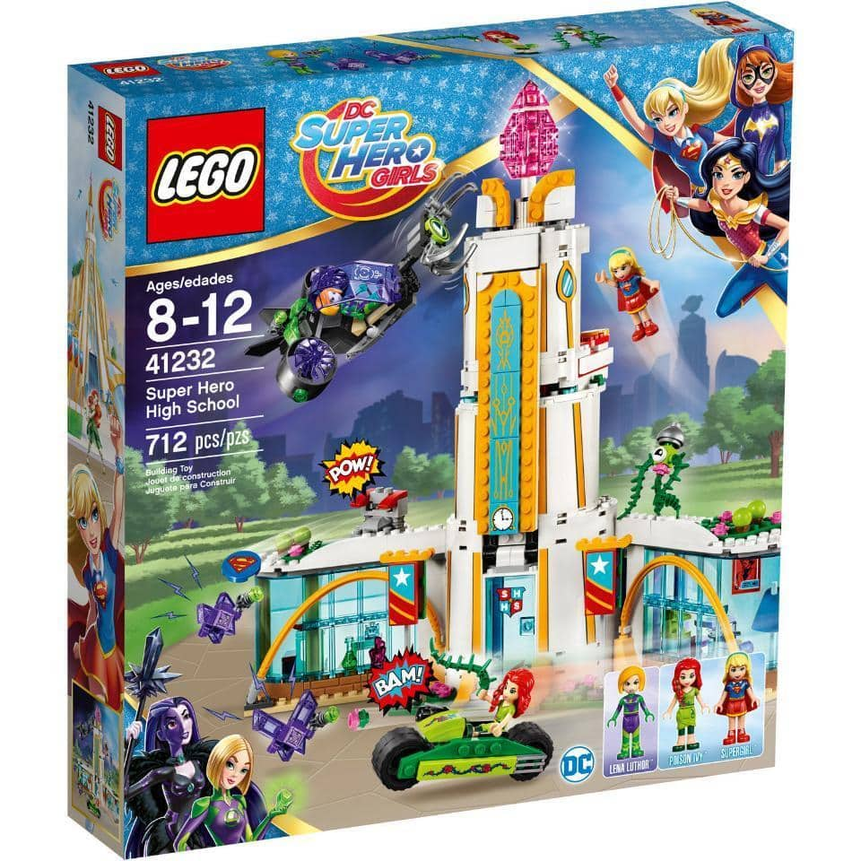 LEGO-DC-Super-Hero-Girls-Super-Hero-High-School 41232@ebay $42.10 (47%) and @39.99 at lego store with limited quantity* $42.07