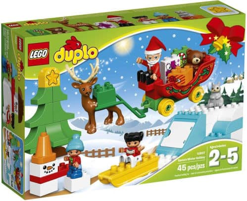 LEGO DUPLO 10837 Town Santa's Winter Holiday and few other selected lego for 50% discount @barnesandnoble ($25 or above free shipping)