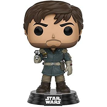 Funko POP Star Wars: Rogue One - Captain Cassian Andor at its lowest price @amazon 2.95$ (73% off) as add-on item $2.95