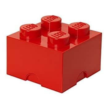 LEGO Storage Brick 4, Red at reduced price $16.32 (49%) at amazon and yellow at its lowest $22.99