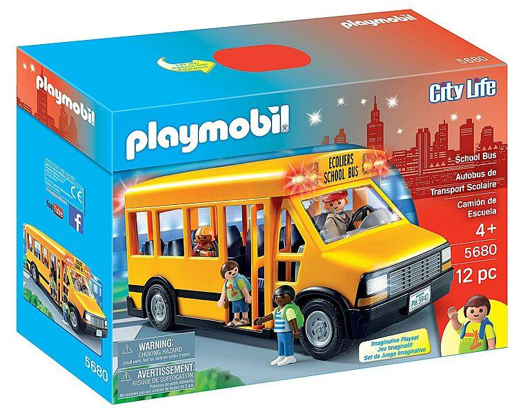 Playmobil school bus set back to it's lowest @Amazon for 11.99$ (52% off)