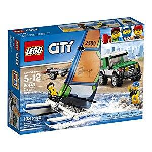 LEGO City Great Vehicles 4x4 with Catamaran 60149 Children's Toy reduced price in amazon for $11(45% off) from $19.99