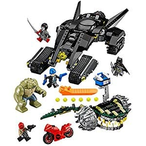 LEGO Super Heroes 76055 Batman: Killer Croc Sewer Smash Building Kit (759 Piece) at reduced price @amazon for $49 (39% off) and amazon wearhouse 'used like new' for $42.63