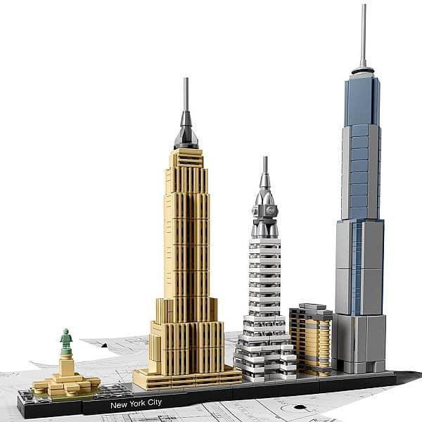 LEGO Architecture New York City 21028 for $47.99 (20 % off) @amazon
