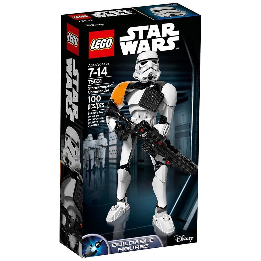 LEGO Star Wars Stormtrooper Commander 75531 for $13 (48% off) @amazon