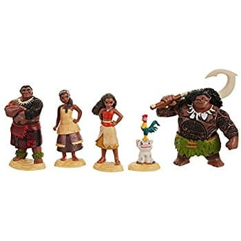 Moana Disney'S Figure Set Toy Figure  for $9.88 (34% off) @amazon at its lowest price