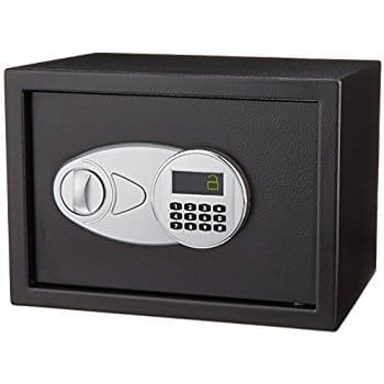 AmazonBasics Security Safe - 0.5-Cubic Feet for $43.75 @amazon
