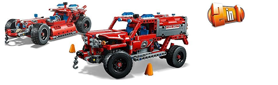 LEGO Technic First Responder 42075 Building Kit 2018 new set for $39.99 (20% off) @amazon, walmart, jet.com at its lowest price so far