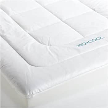 Bamboo Mattress Pad with Fitted Skirt - Extra Plush Cooling Topper - Hypoallergenic , Queen for $89.99 @amazon $89.97