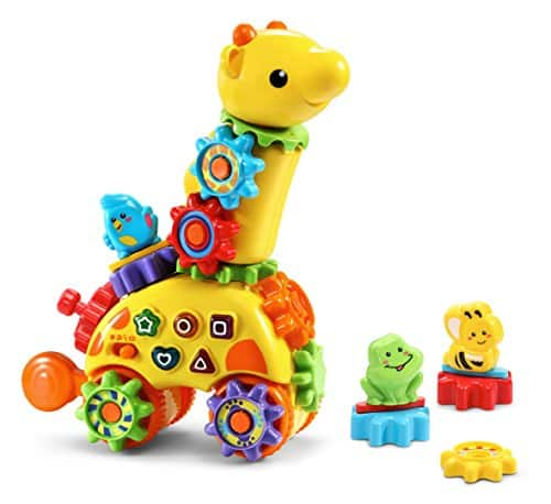 VTech GearZooz Spin & Laugh Gearaffe kids toy  (1 and half to 4 years) REDUCED PRICE $8.54 (57% off) @amazon
