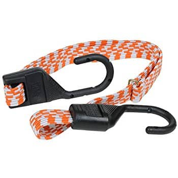 Keeper Adjustable Flat Bungee Cord (10inch to 54 inch adjustable) reduced price $3.59 @amazon