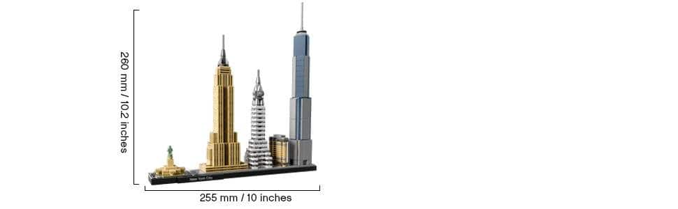 LEGO Architecture New York City 21028 for $47.99 @amazon