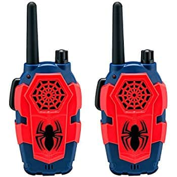 Marvel Spiderman Homecoming FRS Walkie Talkies back in stock at its lowest price @amazon for $9.99