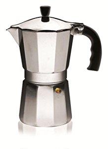 IMUSA USA B120-43V Aluminum Espresso Stovetop Coffeemaker 6-cup, Silver for reduced price  $5.00(66% off) @amazon