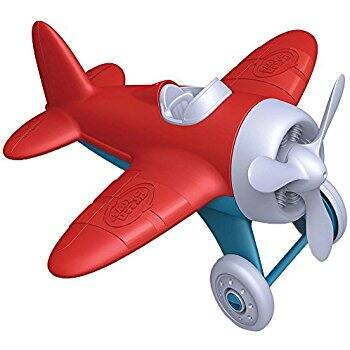Green Toys Airplane, Red at its Best Price @amazon -  $4.06 (73% off) and few more sets at good price